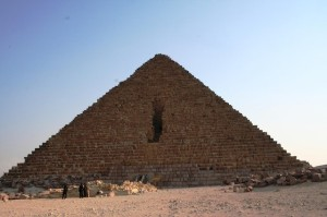 Pyramid of Menkaure, courtesy of Dr. Amy Calvert